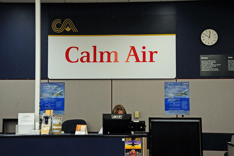 Calm Air is the only game in town.