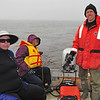 The next morning, Rosrin, Marylou and I took a zodiak tour. Marylou was actually planning to get in the water, but Rosrin and I had been dissuaded by the zodiak company owners. They told us they'd only put 1 person in the water all year because near-continuous heavy rain had rendered water visibility practically non-existent. That, coupled with the frigid water temperature kept us in the boat.