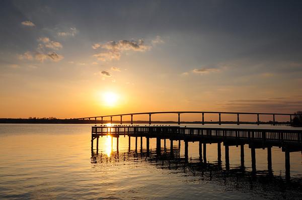 Solomon's Island Sunset 3-22-09