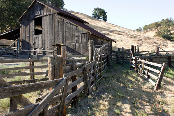 Borges Ranch - Old Barn 2012