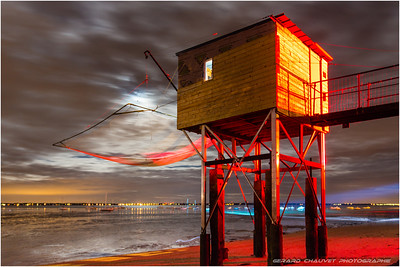 3 _ Fisherman's Hut at Saint Nazaire.