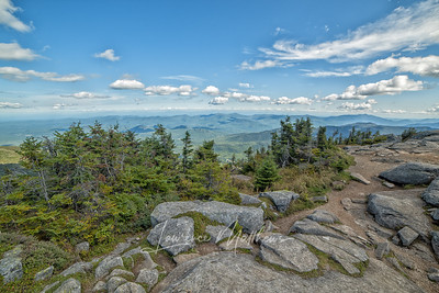 View from Whiteface Mt. NY