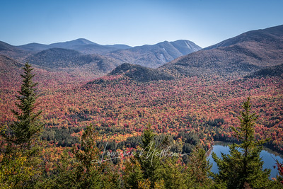 View from Mt. Joe, Adirondacks