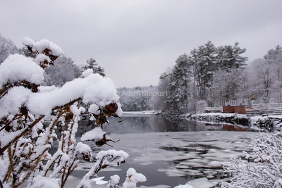 Snow on the Lamprey River