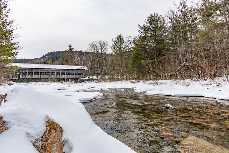 Swift River and the Albany covered bridge