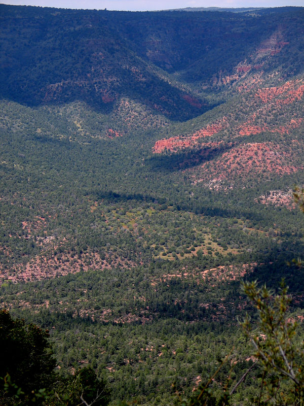 Hiking to Payson, September 2005