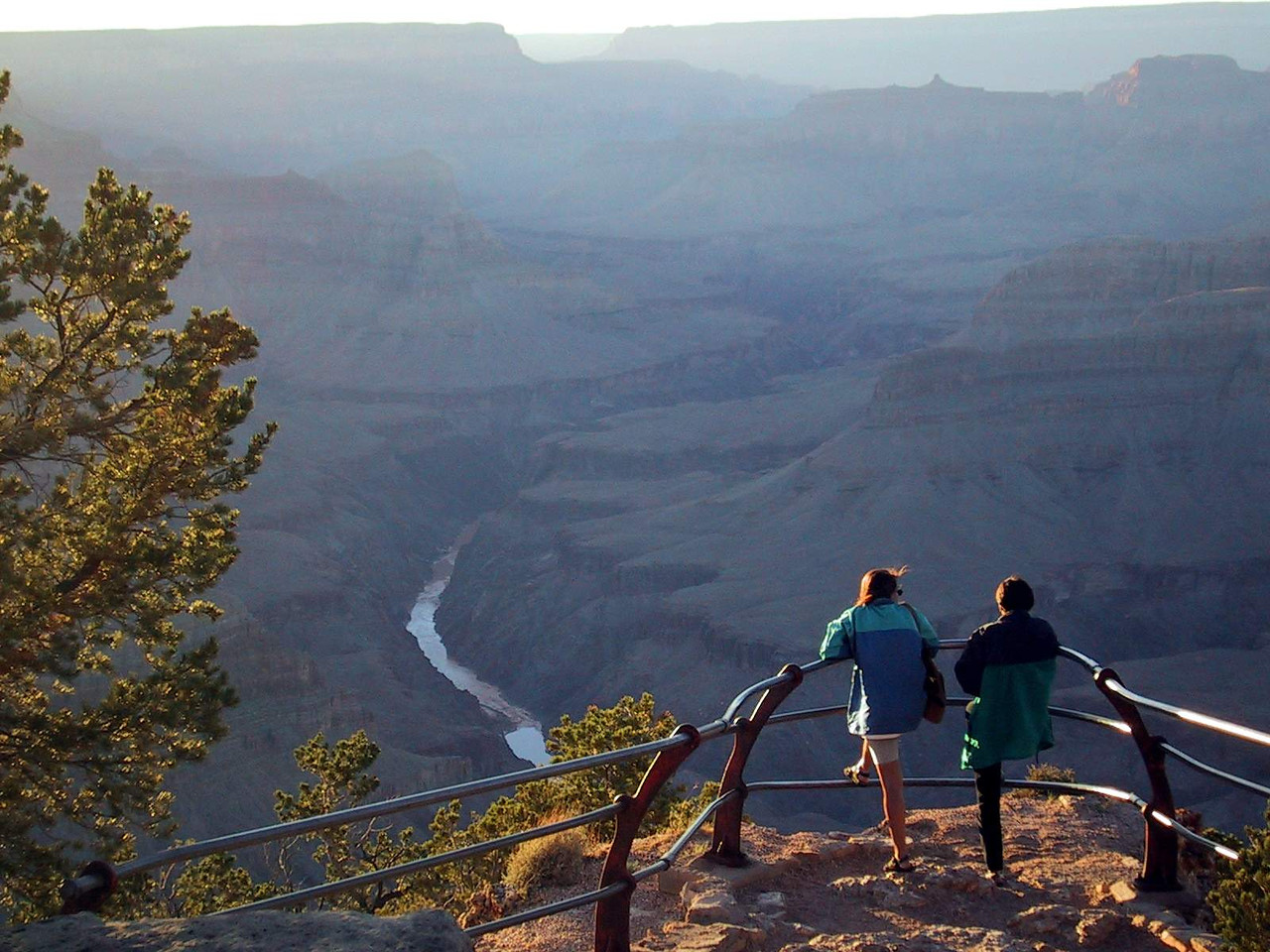 Grand Canyon South Rim, September 2000