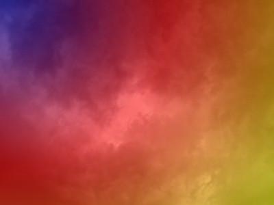 Cloud patterns colour your sky