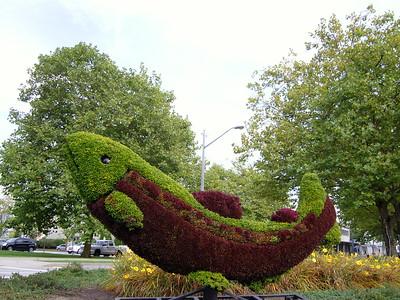 Green Sculptures