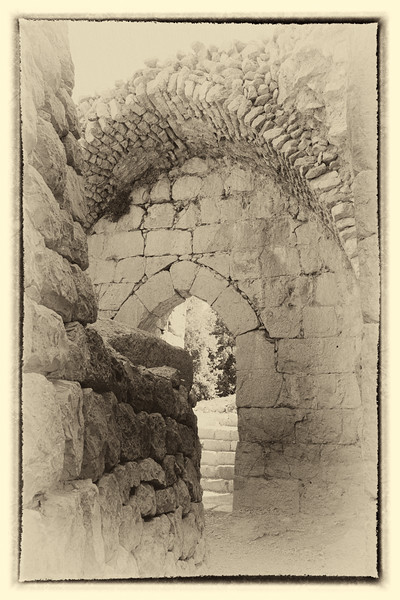 Entrance to Nimrod's Fortress