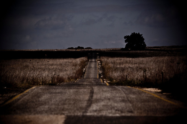 Long road to nowhere in the Golan