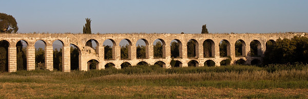 Ancient elevated waterway