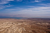 Judean Desert and Dead Sea from Masada