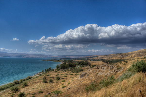 View of the North and the Kinneret from the Golan Heights