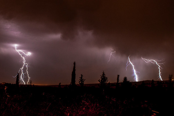 Lightning over the Golan - Lag BaOmer 5772 - 3