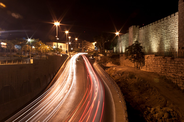 Trails outside the Old City of Jerusalem