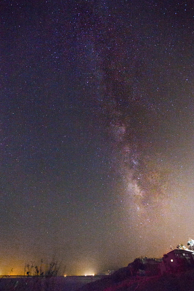 Milkyway over the Dead Sea