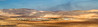 Shomron Desert and farm - Panorama