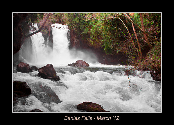 Banias Falls - March '12