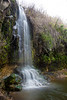 Black Falls in the Golan - Basalt mountains - EL AL river