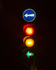 Traffic light - all lights on