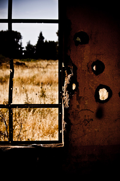Battle scars - Looking out the window