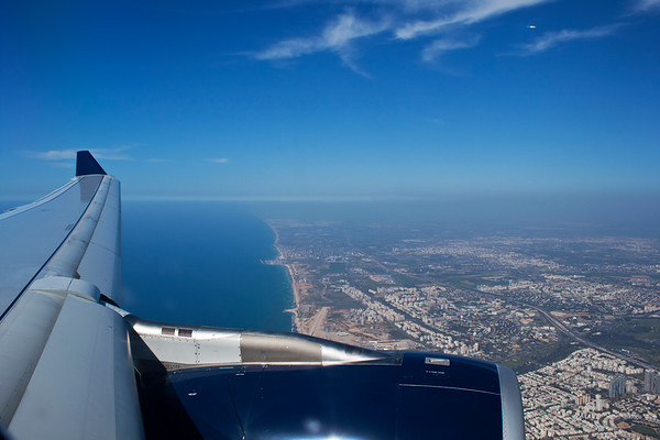 Coming Home - Coast of Israel from On High