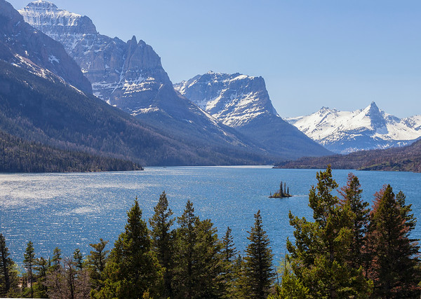 Goose Island, Glacier National Park, Montana