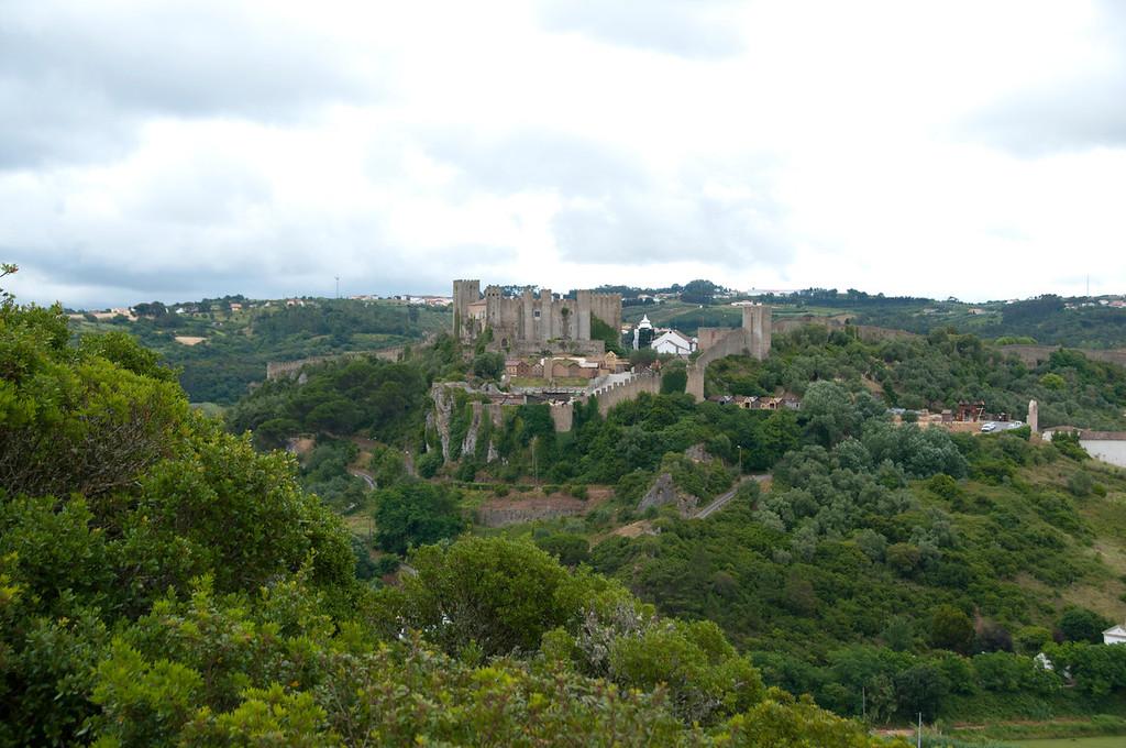 Castelo de Óbidos visto da ermida de Santo Antão