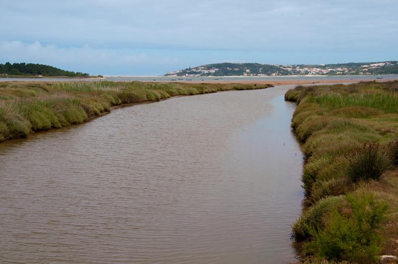 Lagoa de Óbidos - foz do arelho