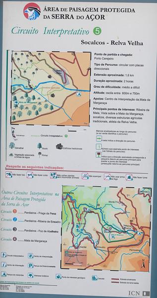 de Porto Cerejeiro a Relva Velha<br /> Mata da Margaraça<br /> Serra do Açor<br /> Arganil