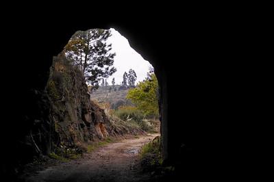 1.3.Túnel da Linha de caminho de ferro - Março 2008