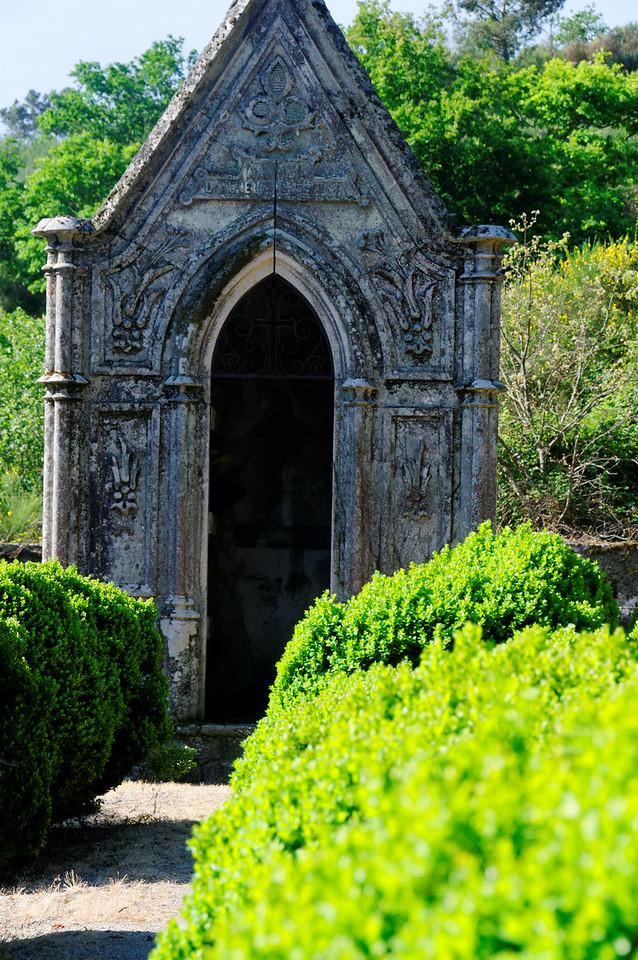 antiga igreja de S. Miguel do Mato<br /> PR5 - Caminho de S. Miguel do Mato<br /> Vouzela