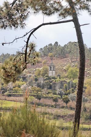 1.6. Caminho para a Capela do Senhor da Agonia-Igreja de S. Miguel do Mato Março 2008