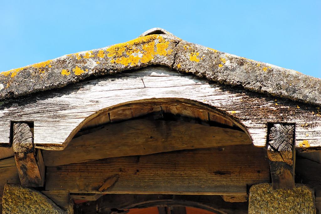 Espigueiro<br /> PR6 Trilho Medieval Cambra Vouzela - 14-06-2008