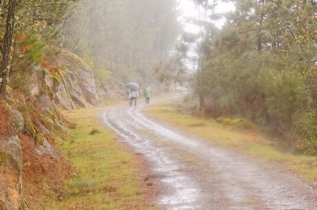 a chuva está forte <br /> Trilho da Penoita