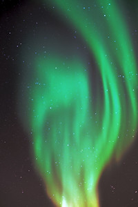 The Northern LIghts in Churchill, Manitoba on the first night--amazing, ethereal