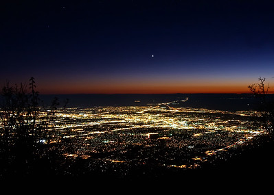 Albuquerque, New Mexico from Sandia Peak