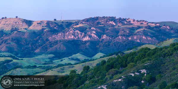 Rocky Ridge - Las Trampas Regional Wilderness Super-HD Panorama ( 11,156 x 5578 pixels/300dpi)