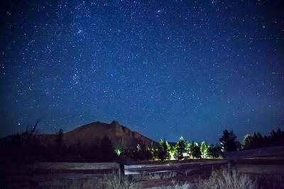 Smith Rock Starry Night Sky