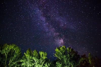 Montana Night Sky - Milky Way Galaxy