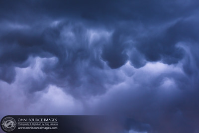 Storm Clouds Over Twin Falls, Idaho.