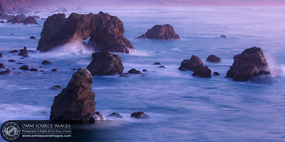 Sonoma Coast Sunset - December 4, 2011