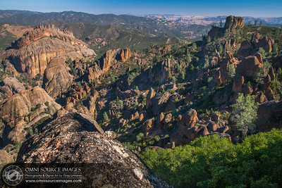The Pinnacles National Park from High Peaks Trail