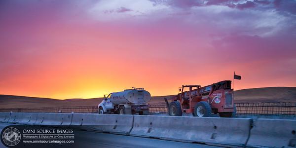 70 MPH Sunset - 580 West Freeway