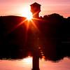Lafayette Reservoir Sunrise. Sunday, Nov. 4, 2012 at 7:01 AM. 1/50 sec at f/22, ISO 50.