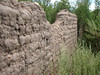 ADOBE WALL CLOSEUP<br /> <br /> I've always loved the texture of old adobe, worn through the ages by wind and water.