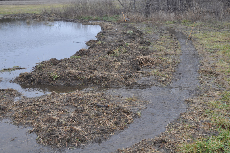 Eastern overflow and runoff