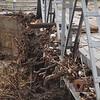 Bridge overflow debris