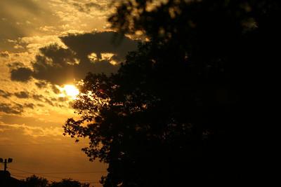 120725-Sunset at Stroud Park